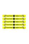Sosyal Mesafe Uyarı Sticker Yer Şerit Bant 5 Adet