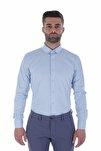 Uzun Kollu İtalyan Yaka Erkek Gömlek V1 1912024