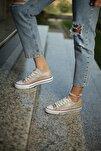 Kadın Spor Ayakkabı Gold Simli