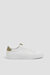 Erkek Beyaz Mikro Delikli Spor Ayakkabı 12204640