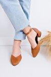 Holly Topuklu Kahve Cilt-süet Ayakkabı