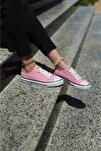 Kadın Pembe Spor Ayakkabı