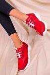 Kırmızı Kadın Sneaker 15226