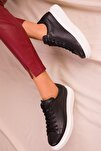 Siyah Kadın Sneaker 15732