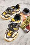 Sarı/gri Sneaker