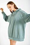4125 Oversize Sweat Elbise