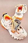 Bej/bej Kadın Sneaker