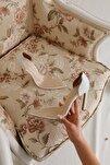 Laurel Beyaz Şeffaf Ince Topuklu Sivri Burunlu Stiletto