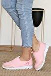 Kadın Pudra Sneakers