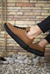 Süet Taba Siyah Erkek Sneaker 0012360