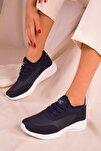 Lacivert Kadın Sneaker 15226