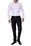 P 888 Slim Fit Antrasit Klasik Pantolon
