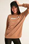 Becool Baskılı Sweatshirt