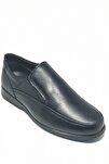 Baba Ayakkabısı Hakiki Deri 4 Mevsimlik Ortopedik Taban Bağsız