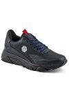 135 Lacivert Siyah Erkek Spor Ayakkabı