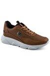 135 Taba Beyaz Erkek Spor Ayakkabı