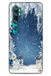 Xiaomi Mi Note 10 Pro Kılıf Snowix (6) Silikon Kılıf Açık Mavi