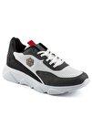 135 Beyaz Füme Beyaz Erkek Spor Ayakkabı