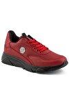 135 Kırmızı Siyah Erkek Spor Ayakkabı