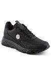 135 Siyah Siyah Erkek Spor Ayakkabı