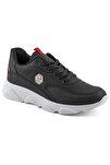 135 Siyah Beyaz Erkek Spor Ayakkabı