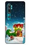 Xiaomi Mi Note 10 Pro Kılıf Snowix (4) Koruma Kılıfı Yeşil Lacivert