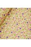 Bej 170 cm Eninde Çiçekli Poplin Kumaş