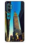 Xiaomi Mi Note 10 Kılıf Dünya Mimarisi (6) Silikon Kılıf Empire State
