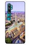 Xiaomi Mi Note 10 Kılıf Dünya Mimarisi (8) Baskılı Kılıf Notre Dome