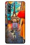 Xiaomi Mi Note 10 Kılıf Dünya Mimarisi (1) Kılıfı Eyfel Kulesi