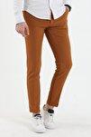 Düz Renk Keten Pantolon