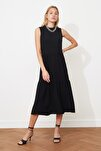 Siyah Geniş Kesim Elbise TWOSS20EL1864