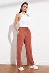 Gül Kurusu Geniş Paça Pantolon TWOSS21PL0248