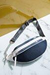 Kadın Çanta Lacivert Beyaz Tbc01