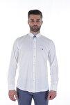 Uzun Kollu Erkek Gömlek Beyaz/White 1912007