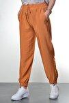 Kadın Camel Manşet Ve Cep Detaylı Pantolon
