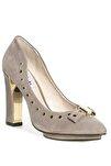 Kadın Gri Azızı Immy Topuklu Ayakkabı