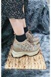 Kadın Bej Uzay Ayakkabı