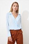 Mavi Kruvaze Bluz TWOAW20BZ0600