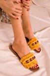 Hardal Sarı Kadın Terlik 15796