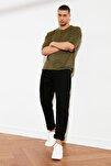 Siyah Erkek Essential Fit Jeans TMNSS21JE0058