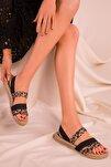 Leopar Kadın Sandalet 15098