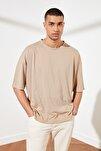 Taş Basic Erkek Oversize Bisiklet Yaka Kısa Kollu T-Shirt TMNSS21TS0811