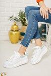 Kadın Beyaz Hologram  Sneaker