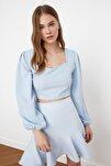 Mavi Crop Bluz TWOSS21BZ0236