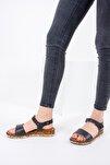 Siyah Kadın Sandalet F288061309
