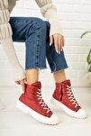 Kırmızı Kadın Bot Dp23-0205