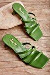 Yeşil Kadın Sandalet L0533001509