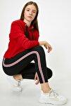 Kadın Kırmızı Normal Bel Dar Kesim Tayt0KAL48009IK
