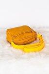 Sarı Unisex 4 Gözlü Çapraz Kullanışlı Kipling Çanta Tbc93